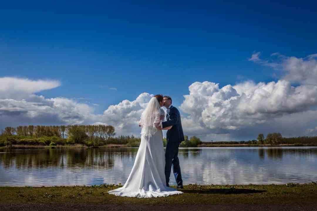 trouwfoto bruidspaar Zuid-Holland