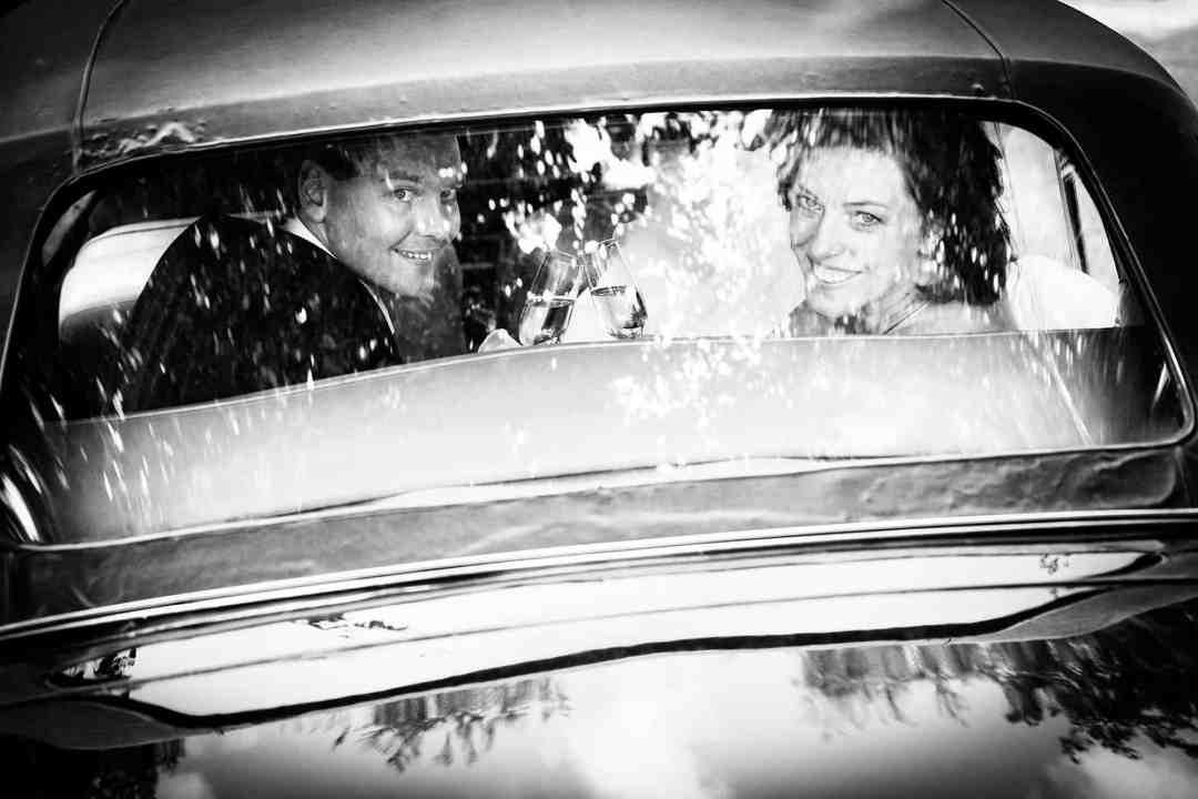 bruidsfotografie trouwauto