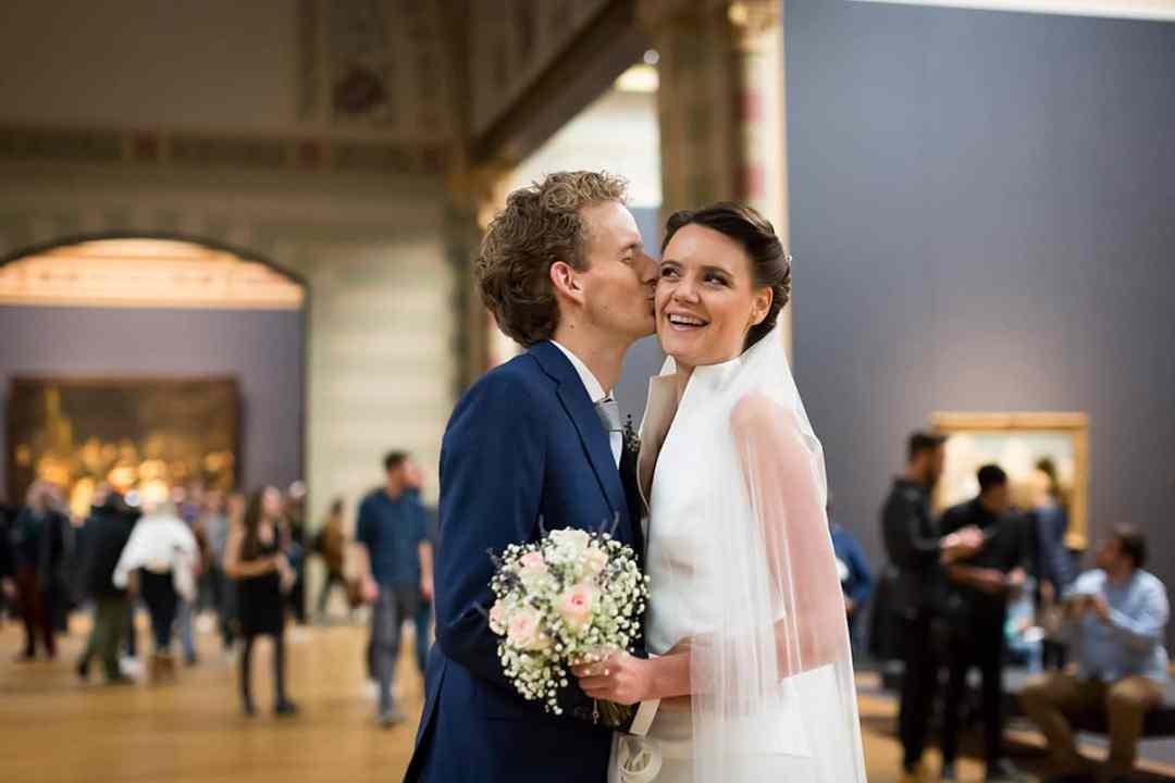 trouwreportage Rijksmuseum