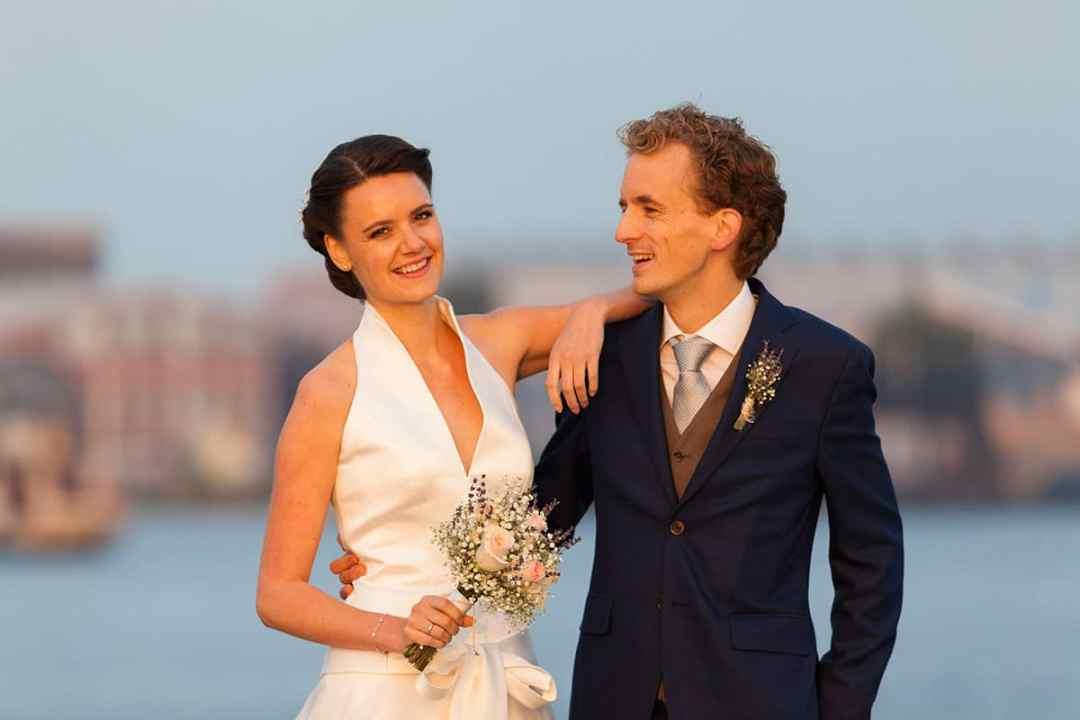 diner trouwdag bruidsfotografie