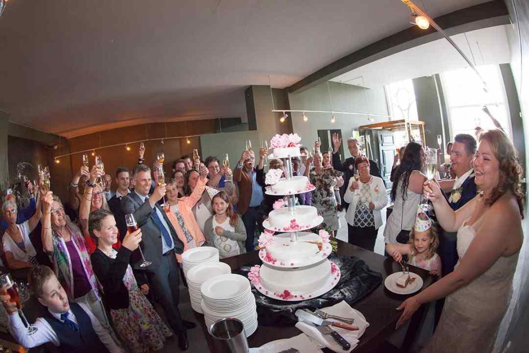receptie bruiloft bruidsfotografie