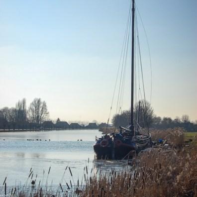 Wandelen langs de Amstel
