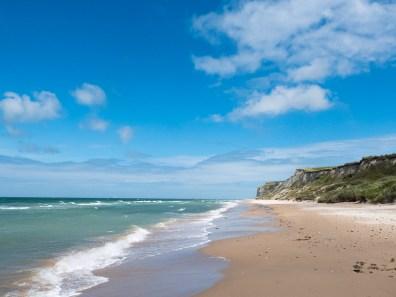 Strand tussen Wissant en Cap Blanc-Nez