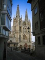 Doorkijkje naar de Kathedraal van Burgos