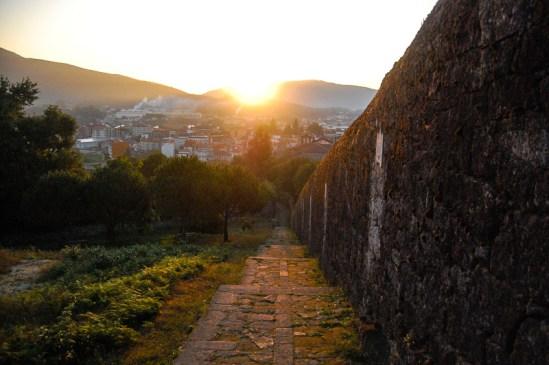 Zonsopgang vanaf Monte Santiaguiño