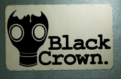 black crown game logo