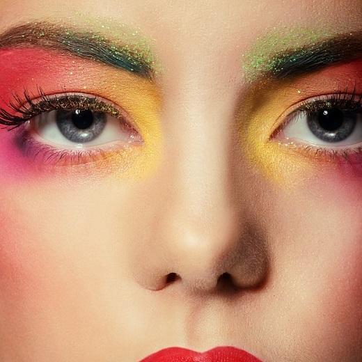 electro makeup tutorial