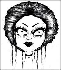 Gothic comic art