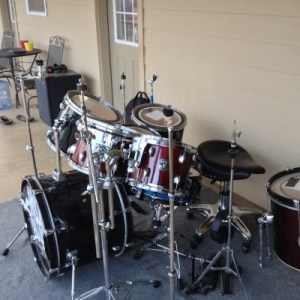 learn how to play the drums