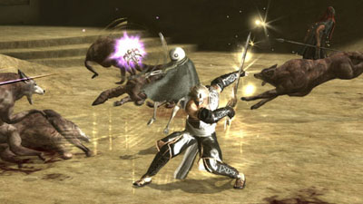 Nier action shot