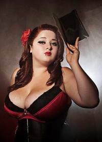 Ruby Rebelle - burlesque