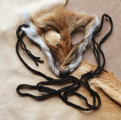 skin spirits shamanic fox mask
