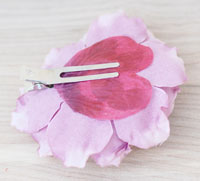 How to make a skull butterfly hair clip - indie arts and crafts ideas