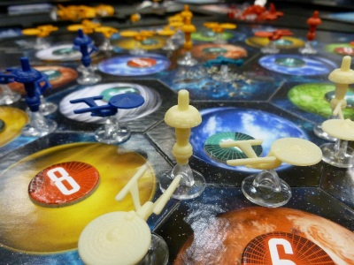 Star Trek Settlers of Catan board game
