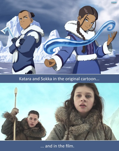the last airbender whitewashing