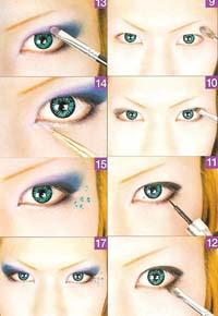 Visual Kei make up