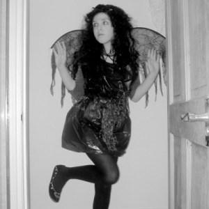 Halloween binbag dress costume tutorial