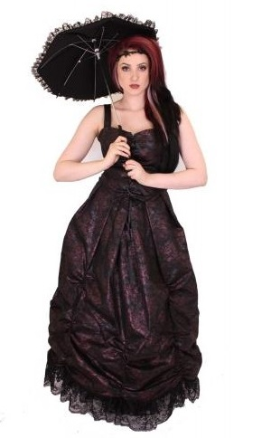 gothic prom dresses under 100 black rose