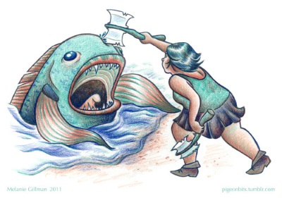 lgbt webcomics melanie gillman fish