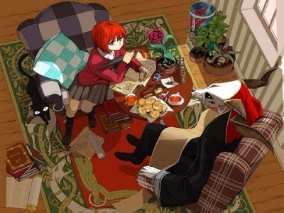 Manga - the ancient magus' bride interior