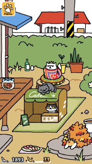 neko atsume gold fish