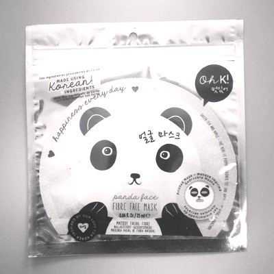 korean beauty brand panda face mask