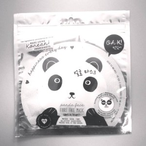 korean beauty brand panda face mask
