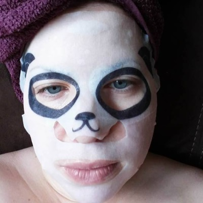 korean beauty panda face mask