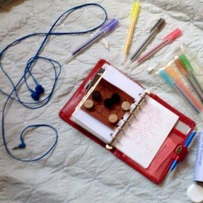 customising pocket planner hobby