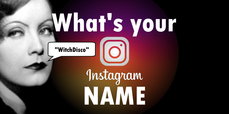 Instagram Names Generator