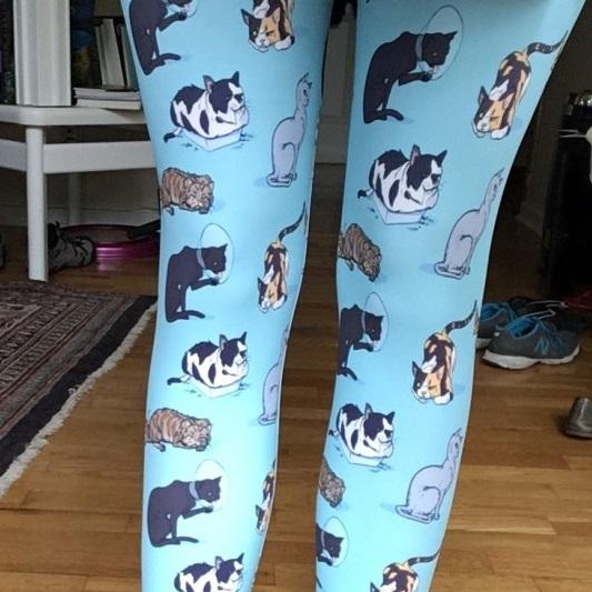 Unadoptables cat leggings