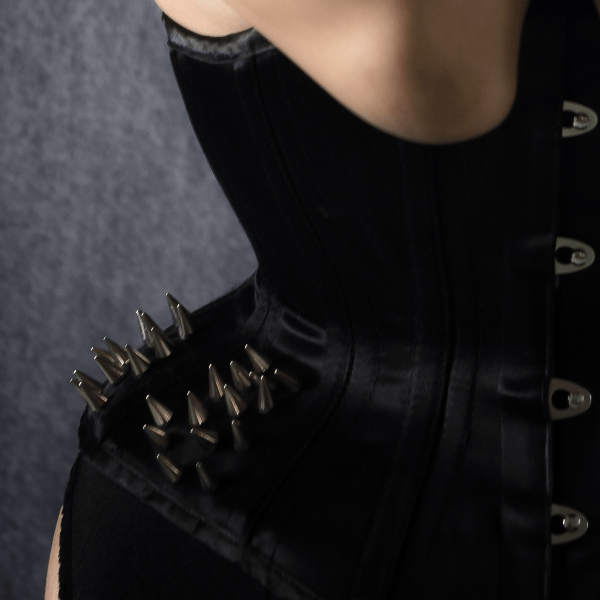 Kitty O'Hara corset detail
