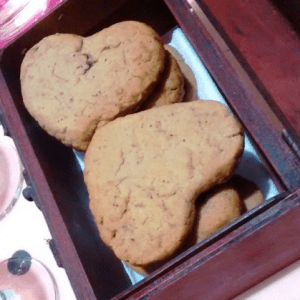 vegan valentines biscuits recipe hibiscus