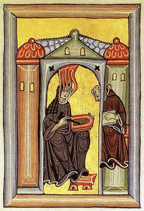middle ages Hildegard of Bingen