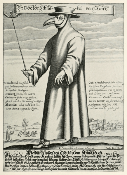 middle ages plague doctor