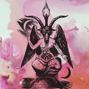 satanic feminist baphomet