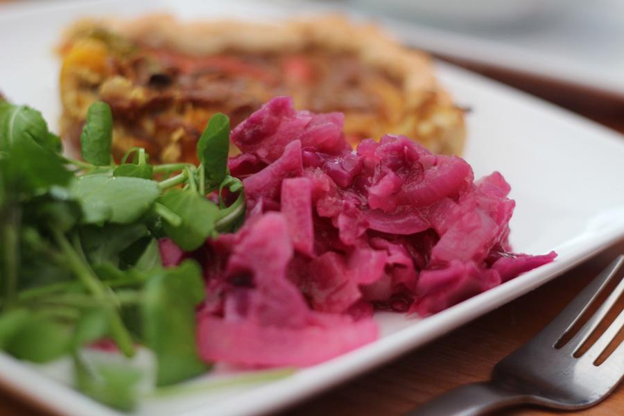 vegan red cabbage recipe