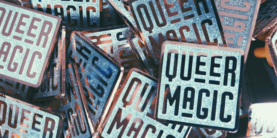 queer pins and badges
