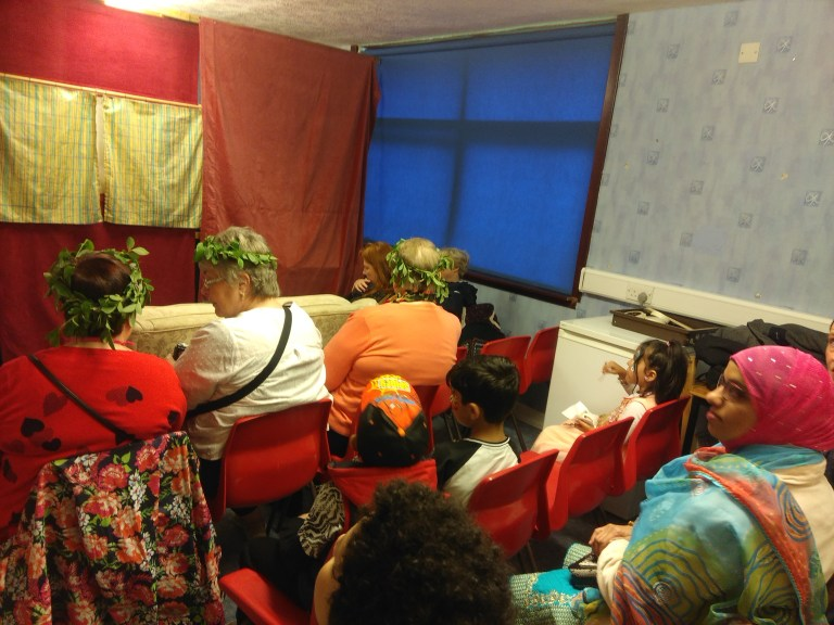 Full house for the puppet theatre