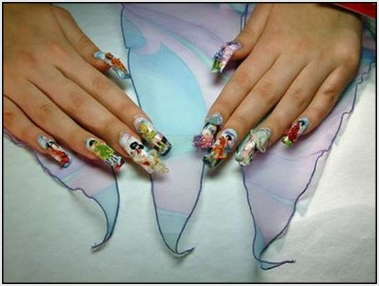 Fingers Creative Nail Design Glasgow With Their Nails But This Is Even More Interesting Finger