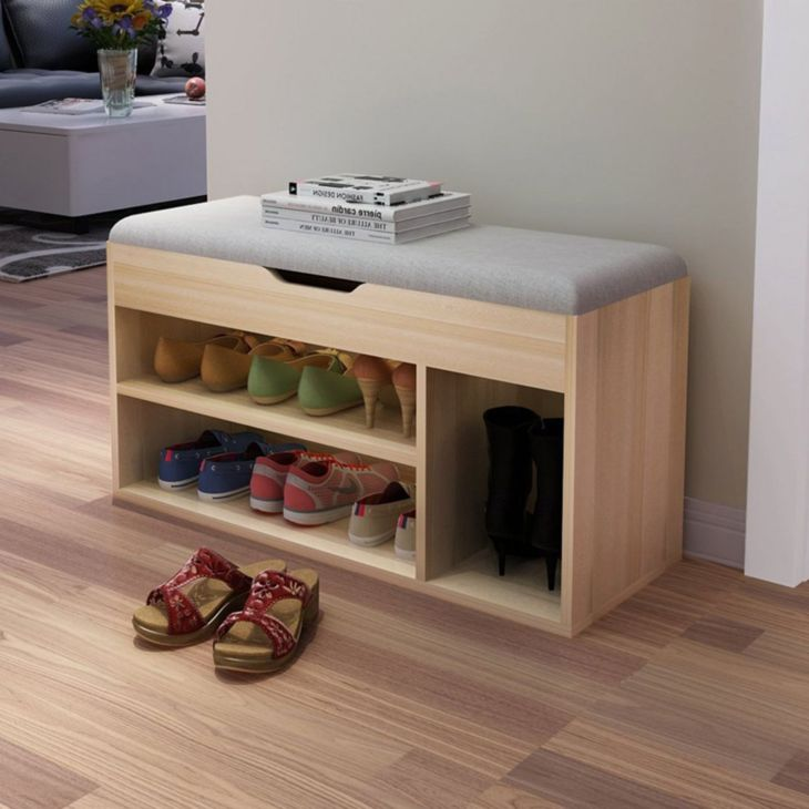 Awesome Wood Shoe Rack Design Ideas