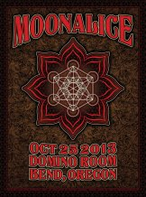M651 › 10/25/13 Domino Room, Bend, OR poster by Dave Hunter
