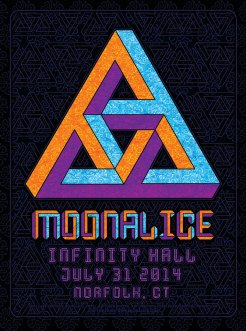 M731 › 7/31/14 Infinity Hall, Norfolk, CT poster by Dave Hunter