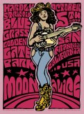 M756 › 10/05/14 Hardly Strictly Bluegrass Festival, Golden Gate Park, San Francisco, CA poster by Wes Wilson