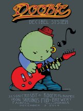 R17 › 12/3/14 Iron Springs, Pub & Brewery, Fairfax, CA poster by Stanley Mouse