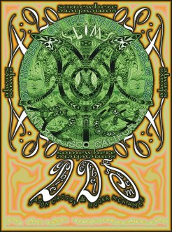 M807 › 4/19/15 Gathering of the Tribe at Slim's, San Francisco, CA poster by Lee Conklin