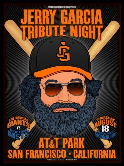 M931 › 8/18/16 AT&T Park, SF Giants, San Francisco, CA poster by Chris Shaw