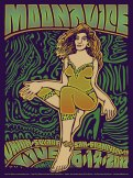 M985 › 6/14/17 Union Square Live, San Francisco, CA poster by Wes Wilson and Carolyn Ferris
