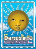 M992 › 6/21/17 Surrealistic Summer Solstice Jam at Conservatory of Flowers, San Francisco, CA poster by John Mavroudis