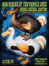 11/26/14 New Riders of the Purple Sage / Doobie Decibel System poster by Alexandra Fischer